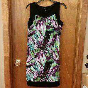 Vibrant Sheath Dress